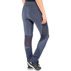 Odlo Exo Collant Femme, blue indigo melange-diving navy